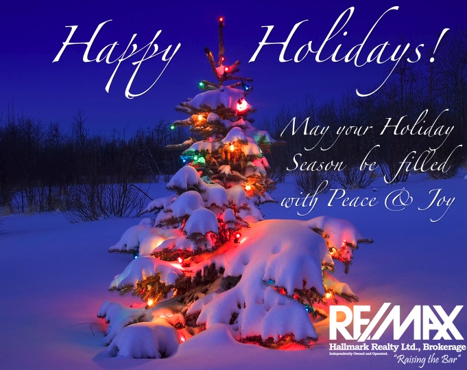Happy Holidays From REMAX Hallmark May Your Holiday