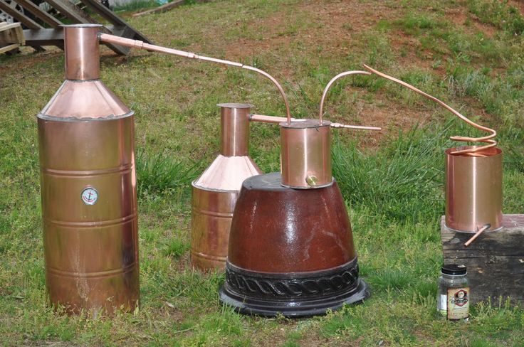 how to build a still out of a keg