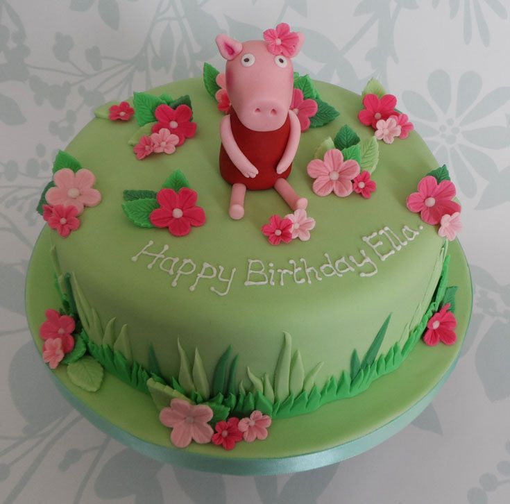 Phenomenal Children S Birthday Cake Ideas Peppa Pig 1000 Images About Peppa Personalised Birthday Cards Paralily Jamesorg