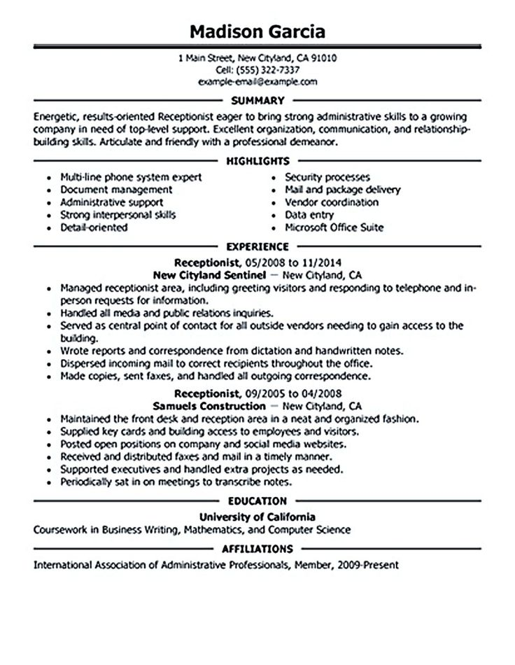 1000 ideas about resume objective examples on pinterest resume