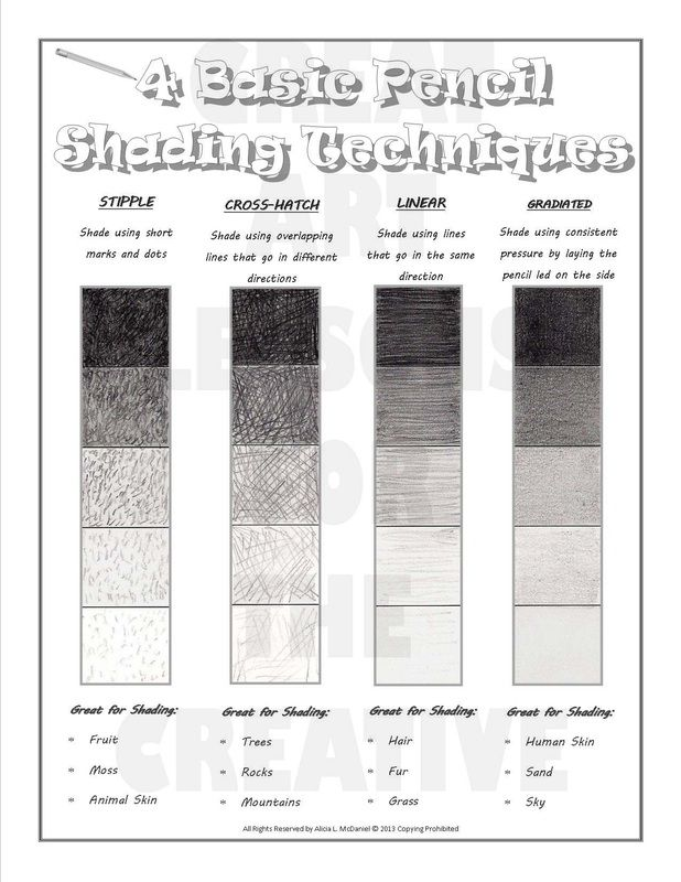 77 Best Images About Value Scale Shading