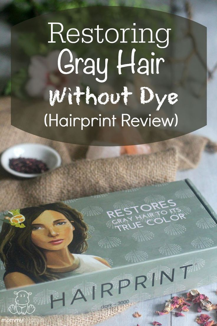 Restoring Gray Hair To Its True Color Without Dye