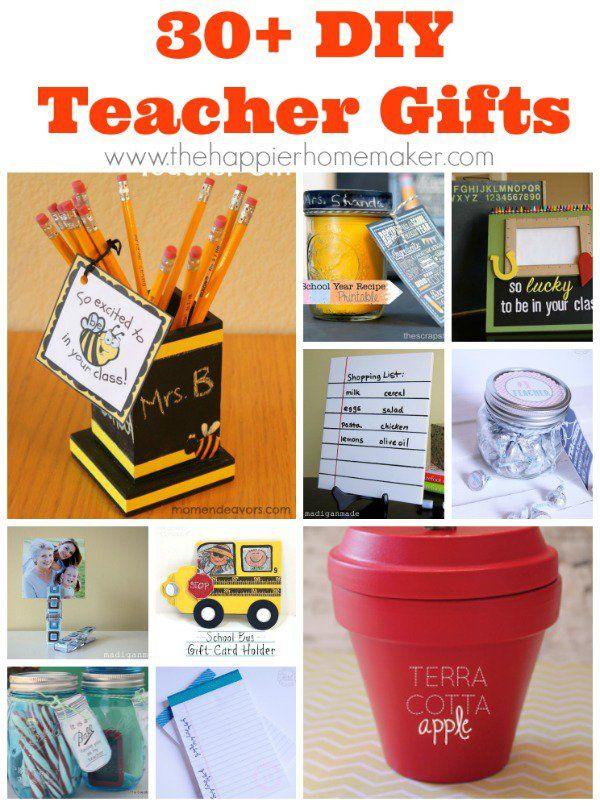 30+ DIY Teacher Gift Ideas For Your Teacher Pinterest