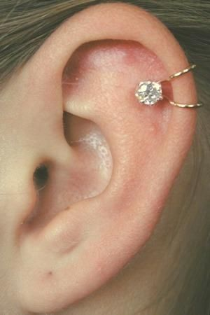 Cartilage earring.. so different th