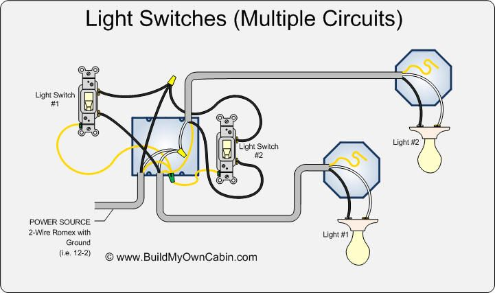 Wiring-multiple-switches-to-multiple-lights-diagram