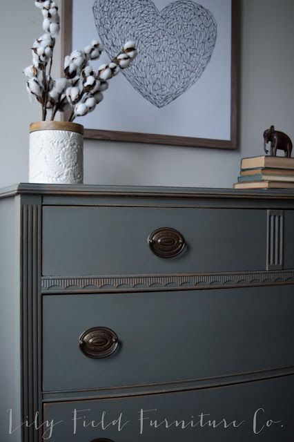 Sherwin Williams Cast Iron Dresser Color Matched By