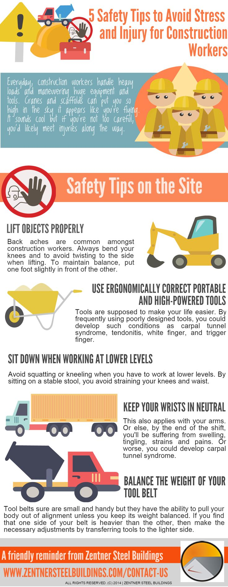 INFOGRAPHIC5 TIPS TO AVOID STRESS AND INJURY FOR