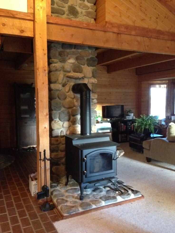 Quadra Fire 4300 Step Top Wood Burning Stove Woodstove