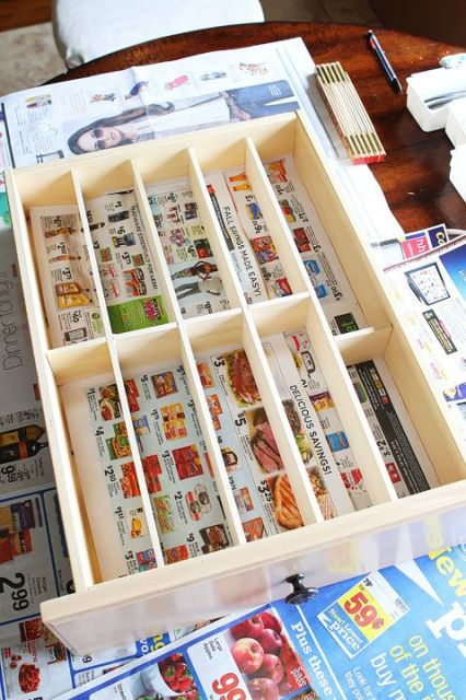Make your own DIY Custom Wood Kitchen Utensil Drawer Organizer! Super easy and so cheap. You can do this for less than $10!: