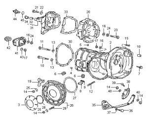 Diagram 4 VW Swing Axle Type 1, 2 & 3  Housings | Dune