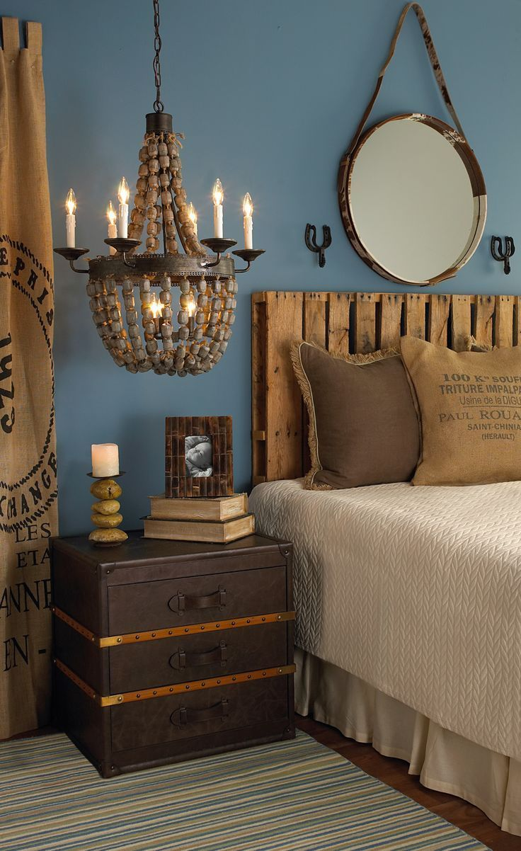 Nautical Nights A Rustic Amp Watery Bedroom Perfect For A