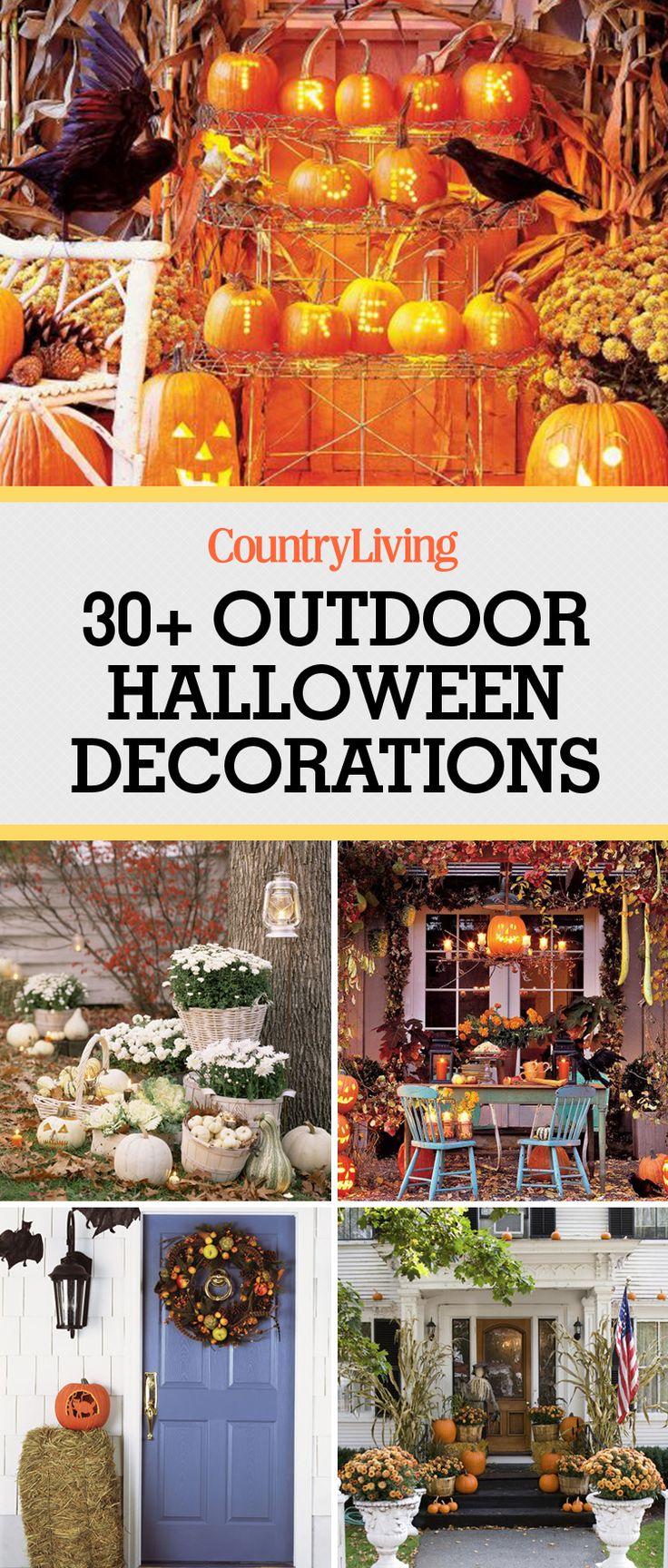 30 Spooktacular Outdoor Halloween Decorations Halloween