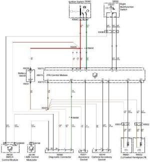 Bmw k1200lt electrical wiring diagram #4 | k1200lt
