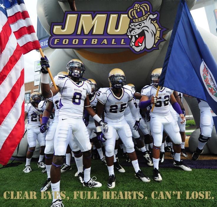 JMU football players desktop background. Click here to