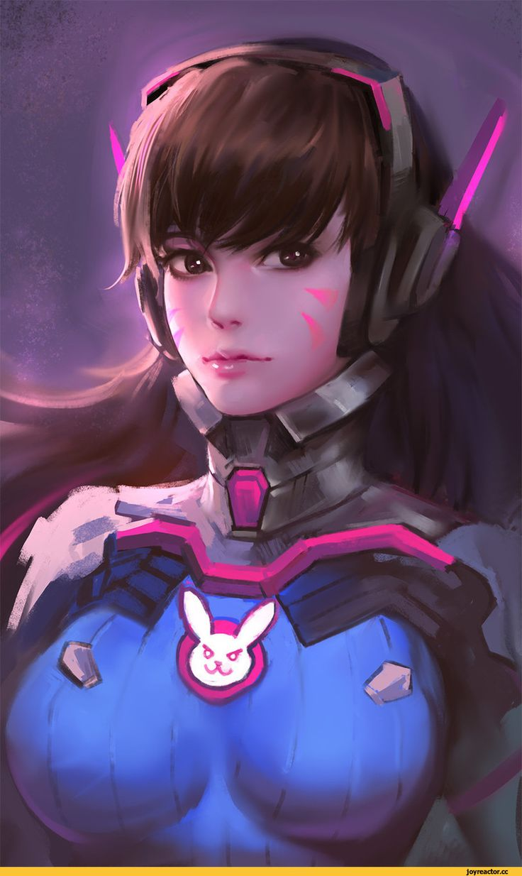 DVaOverwatch Game Art Beautiful Girl