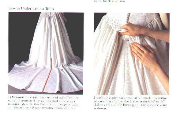 1000+ Images About How To Make A Bustle On Pinterest