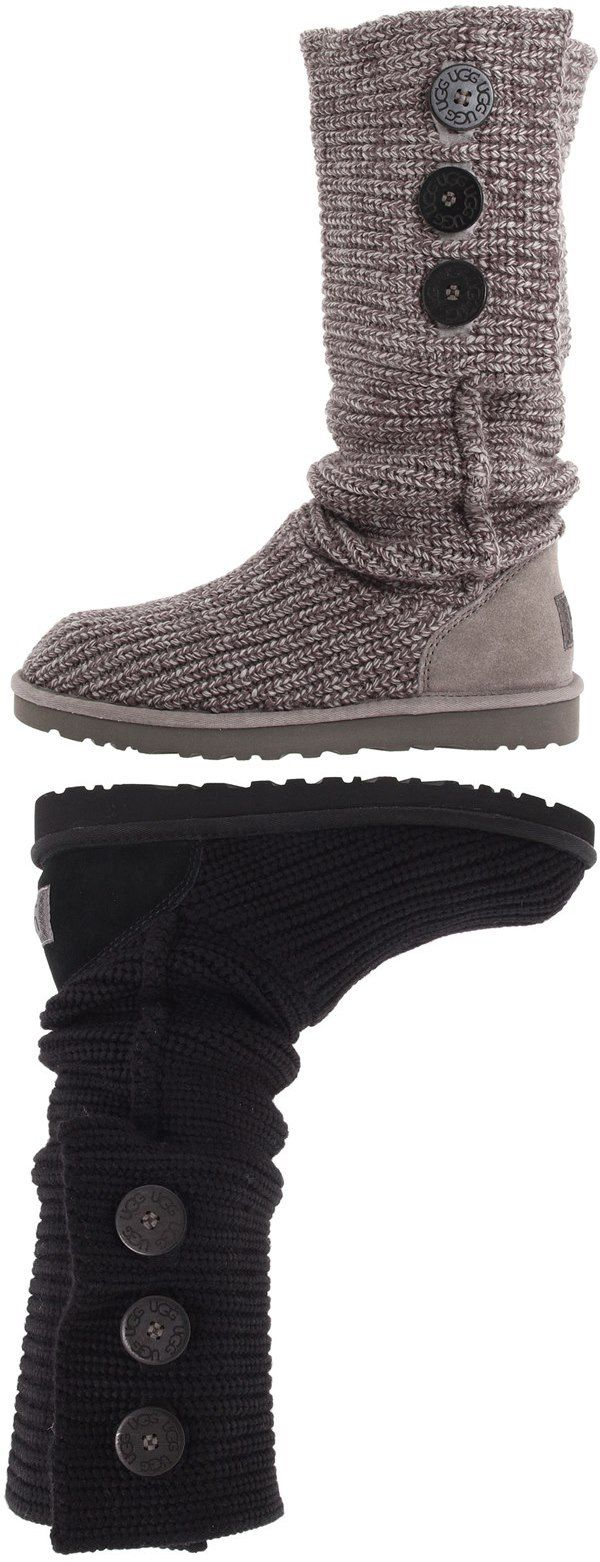 UGG Classic Cardy: I received these boots in black and I love them they go great