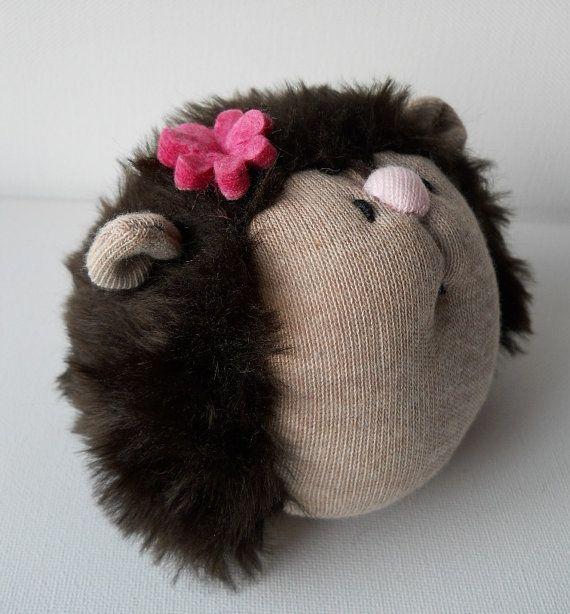 Hedgehog Plush Animal From Treacher Creatures 1500