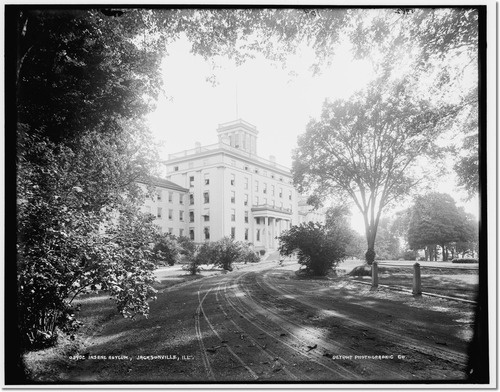 Jacksonville Insane Asylum, IL between 1890 and 1901