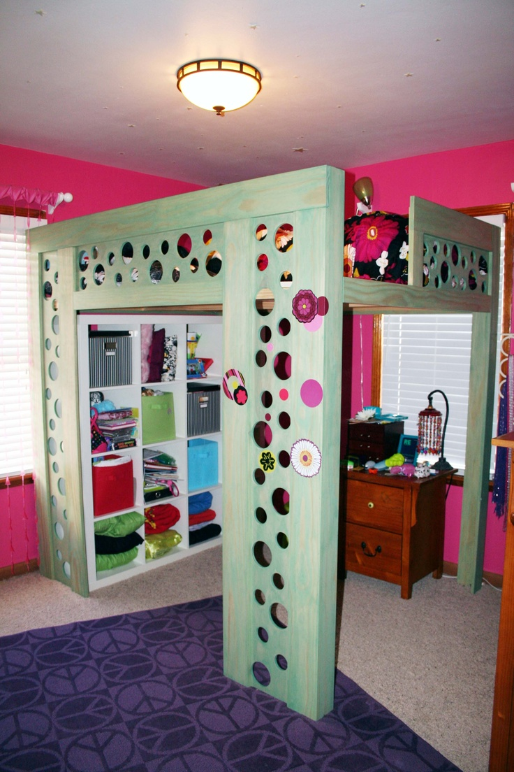 Coolest Loft Bed Ever Ikea Storage Underneath Is