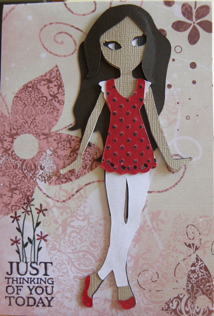 17 Best Images About Paper Doll Teen Scene On Pinterest Cricut Cartridges Glitter Cards And