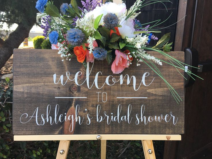 25 Best Ideas About Bridal Shower Signs On Pinterest L