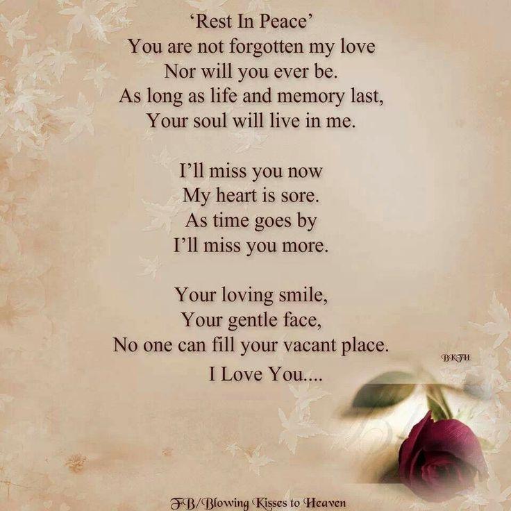 Short Rest Peace Messages