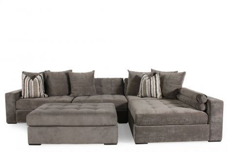 Noah 2pc Sectional Places The Ojays And Plush