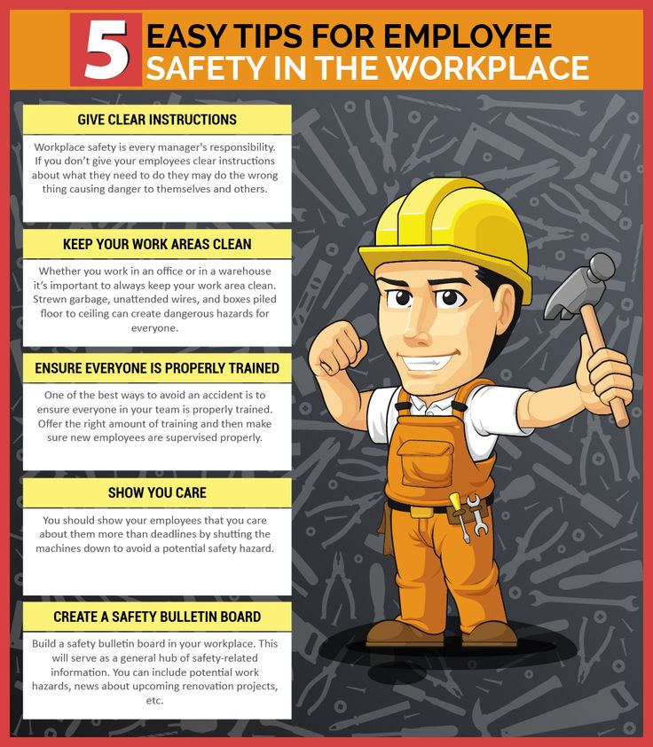 Top 5 workplace safety tips every employee should know
