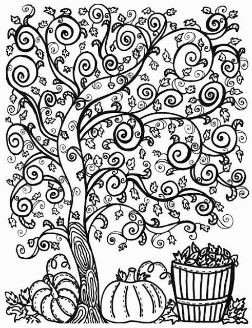 fall coloring pages coloring pages and coloring on pinterest