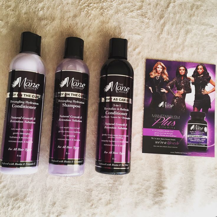 The Mane Choice Natural Hair Products Review Hair
