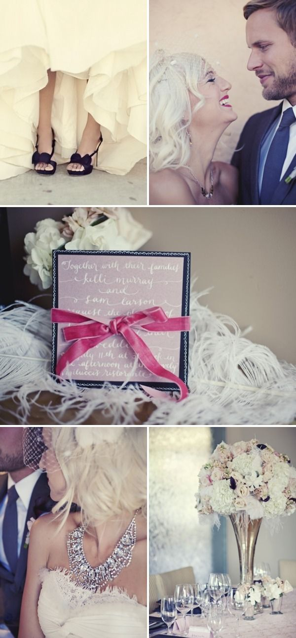 Vintage Glam Wedding Inspiration