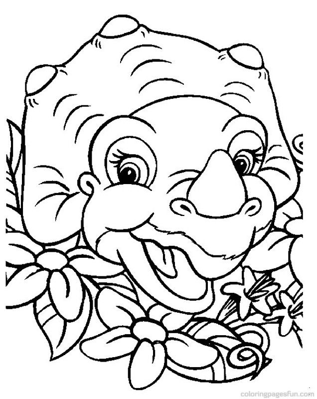 baby dino coloring pages 13 dino theme pinterest coloring