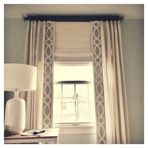 Linen Panels With Tape Trim Drapery Panels Pinterest Linens And Tape