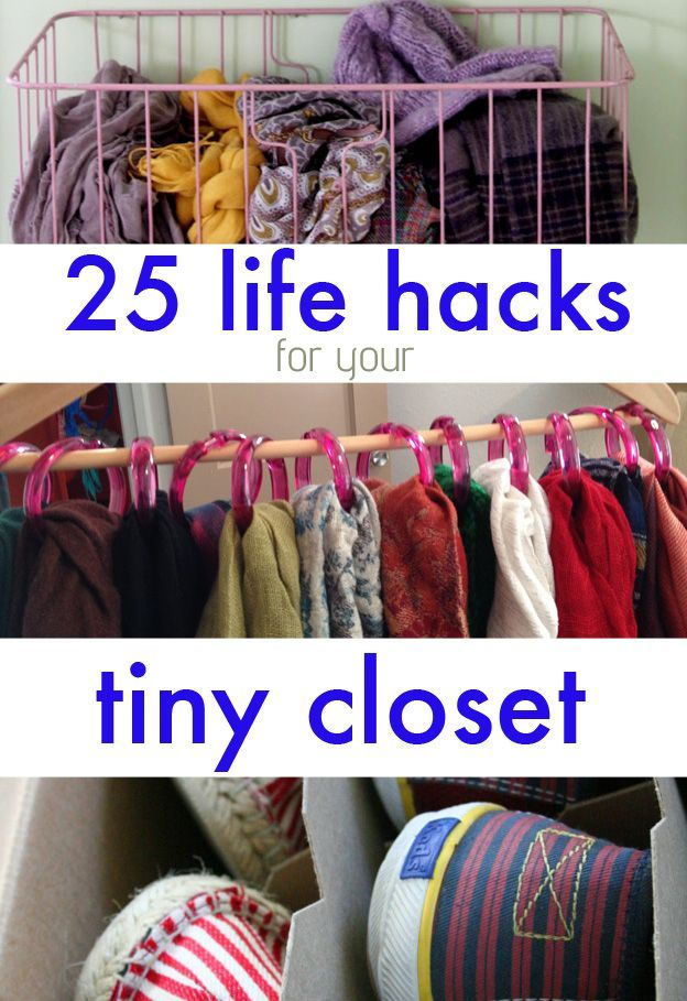 25 Lifehacks For Your Tiny