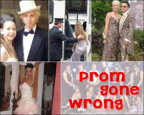 Prom Gone Wrong! LOL! Pinterest Gone wrong and Prom