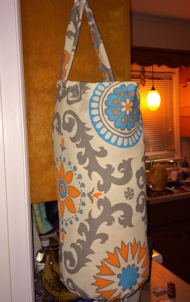 DIY grocery bag holder DIY Adventures Pinterest Bag