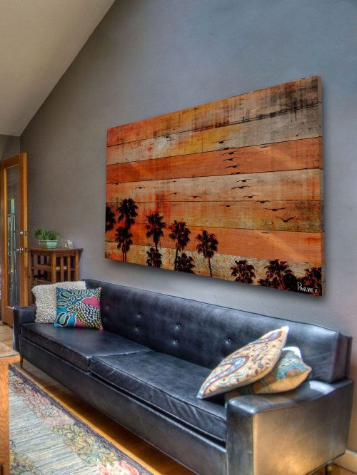 reclaimed wood art by Parvez Taj  – these are cool! Inspiration! :)