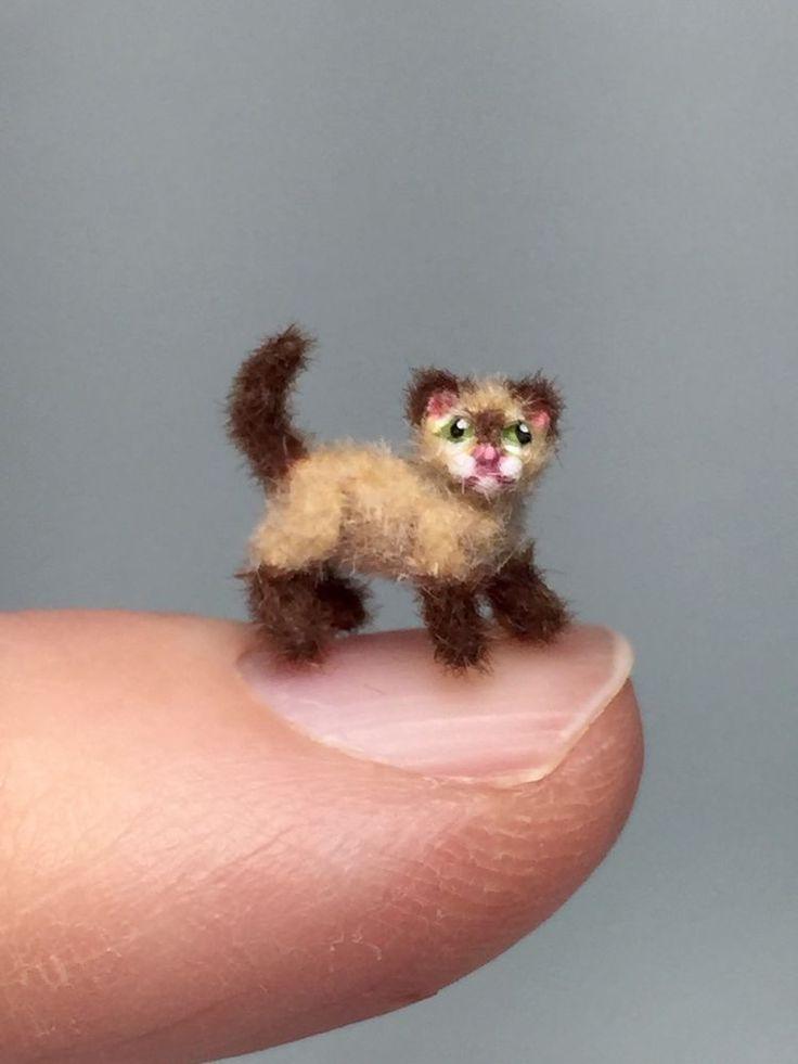 1000 Images About OOAK Miniature Fur Cat On Pinterest