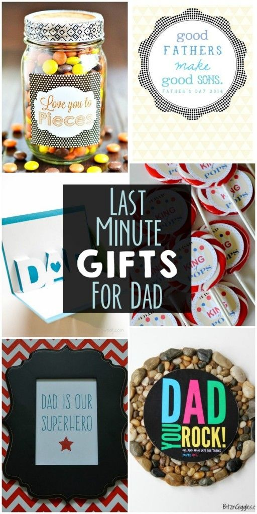 Last Minute Gifts for Dad Stuff Pinterest Dads, Last