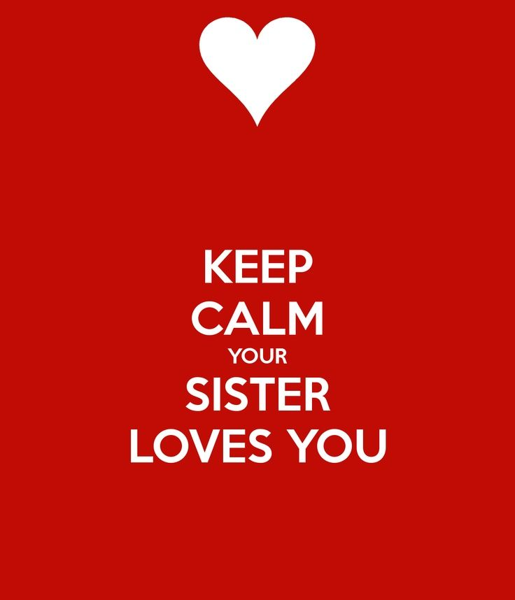 Keep Calm And I Love My Two Brothers