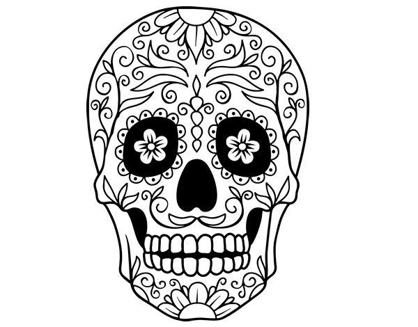de calaveras on pinterest candy skulls dibujo de and to draw