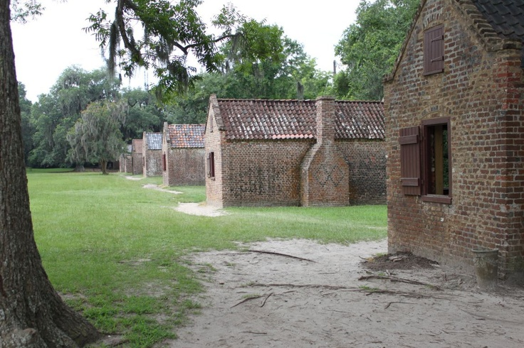 Boone Hall Slave quarters. It hurts me in every fiber of