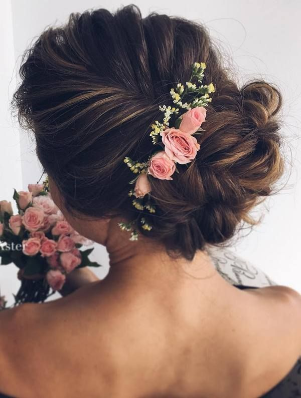 best 25 flower hairstyles ideas on pinterest bridal hair flowers flower hair and simple