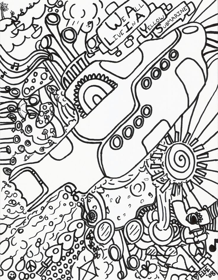 Psychedelic Hippie Coloring Pages. coloring pages of lace patterns ...