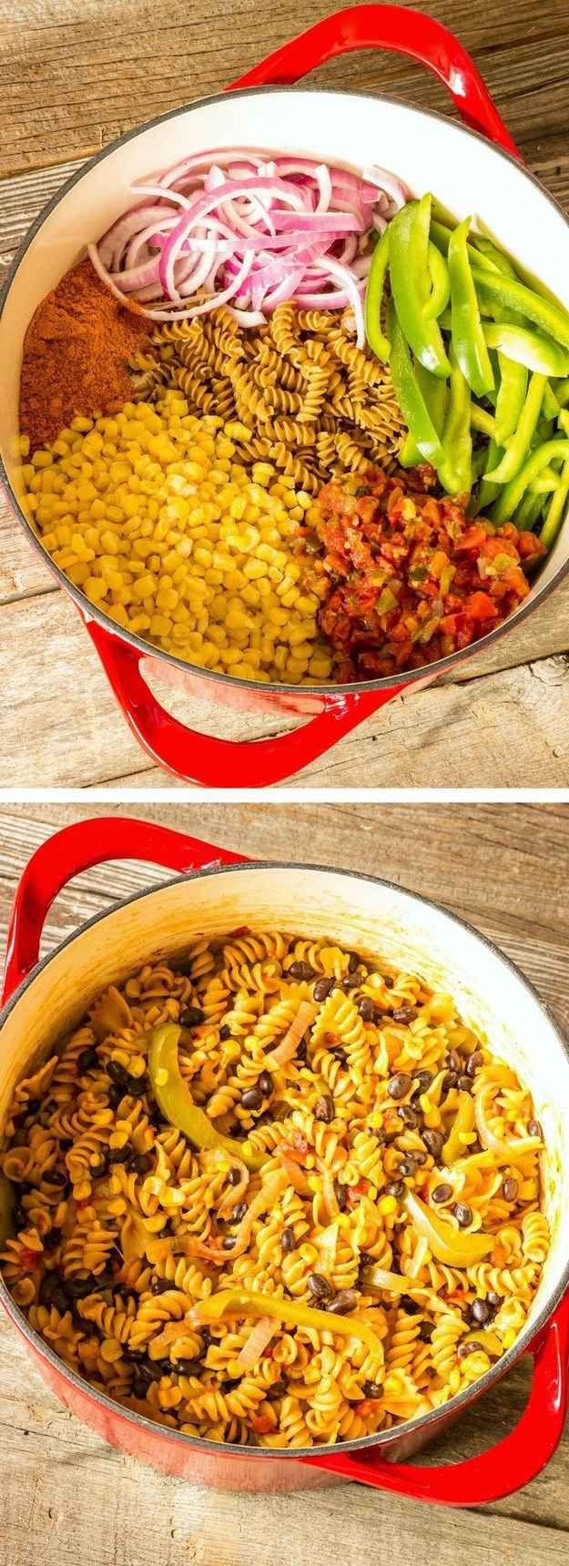 Veggie-packed Southwest Pasta
