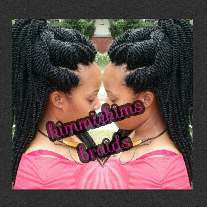 Crochet Senegalese Twist KimmieKims Braids Pinterest