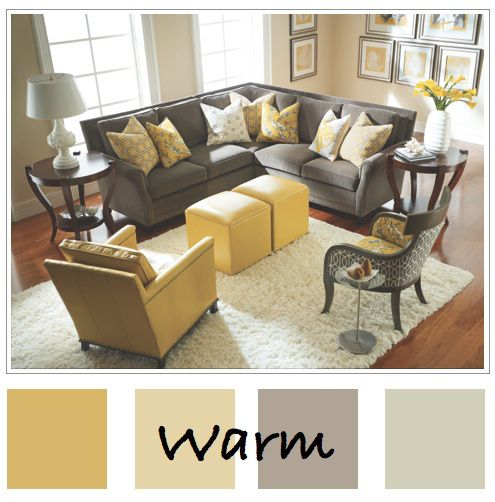 I Loooove The Grey Yellow Color Combination But Especially Love This Muted