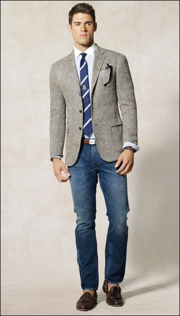 trendy sport jackets with jeans for men Bing Images