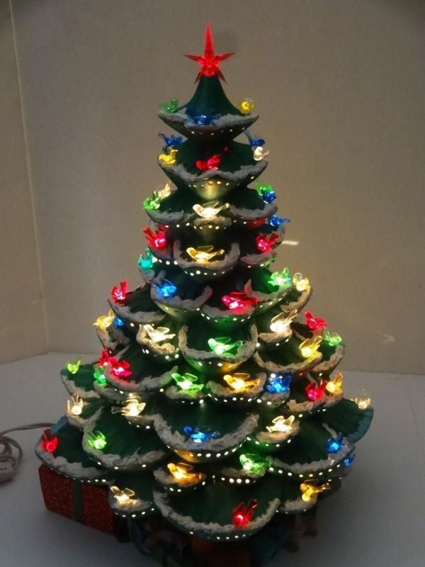 1000 Images About Lighted Ceramic Christmas Trees On